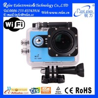 FHD 1080P Waterproof WiFi Sport Action Camera AT90 With 4GB Memory Card