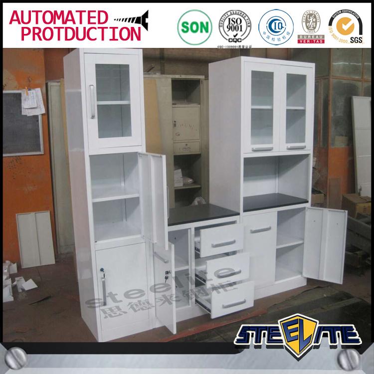 Home used white metal kitchen cabinets kitchen design for V kitchen philippines