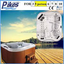 Mini piscine spa with powerful massage jets