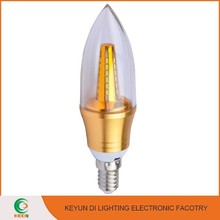 Latest Products 5W candle shape light E14/E27/B22 led light candle