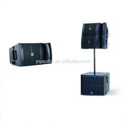 line array column speaker system