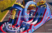 2014 adult adrenaline rush extreme inflatable wind one obstacle course