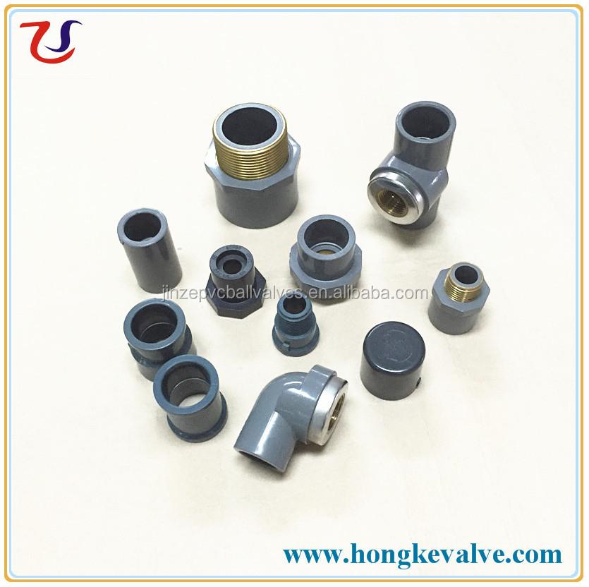 Africa plastic grey din pvc water pipe fittings buy