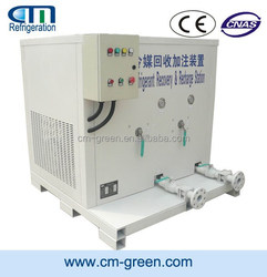 large machine refrigerant gas R22 filling machine ISO TANK ac recycling machine WFL36