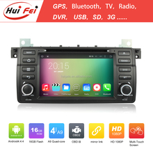 From HuiFei Android 4.4.4 Car DVD Player 2 Din Car DVD Android For BMW E46 Cheap Touch Screen For BMW E46