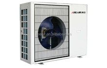 For house heating + cooling Air to water source heat pump