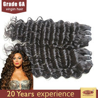 Full Bulk Wholesale Unprocessed brazilian deep wave curly virgin hair extension