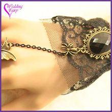 TOP SELLING STYLE!! Latest Elegant vintage inspired bridal bracelet ring set