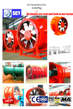 High pressure Corrosion resistant Smoke exhaust Centrifugal Fan
