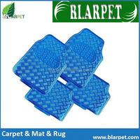 High quality stylish current PVC aluminium car floor mat