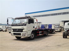 6000kg flat bed tow truck, sliding recovery car, road rescue vehicles