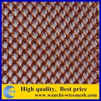 Light weight window screen expandable metal mesh/Diamond decorative mesh