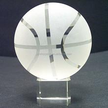 crystal basketball for team souvenir MH-SQ077