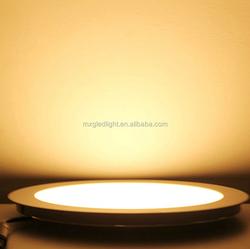 3W 4W 6W 9W 12W 15W 18W 24W round LED panel light ultra bright