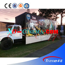 Trailer mobile 5D theater truck mobile 5D cinema equipments