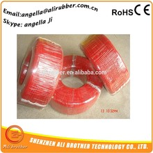 silicone covered heat resistant electrical wire