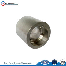 steel pipe fitting astm a182 f53 duplex stainless steel coupling