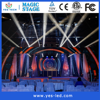 Alibaba express high brightness outdoor advertising led display for touring stage events
