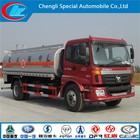 a melhor configuração do caminhão de combustível de alta performance tanques de óleo foton auman 15 cbm caminhões óleo
