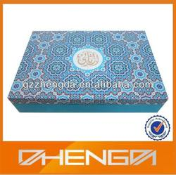 High quality customized Arabesque Wood Gift Box Wedding Box