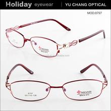 Fashion Alloy specs eyeglasses frames for girls