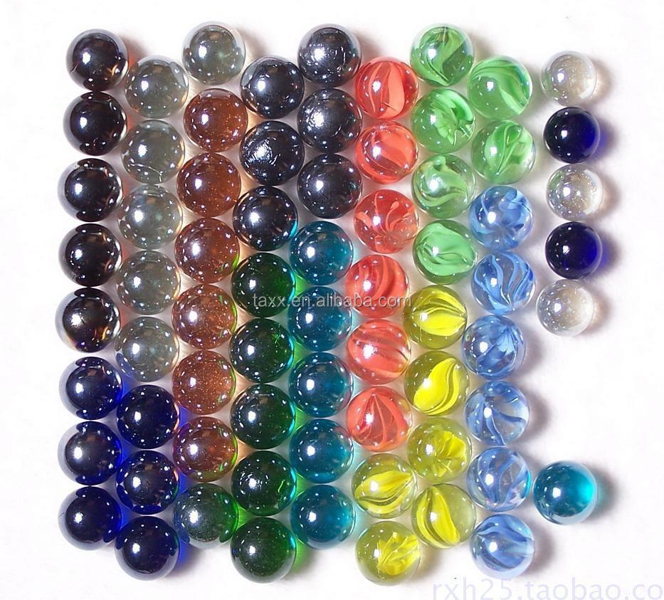 China glass beads  balls decorative