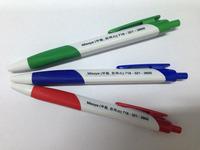 triangular ball pen 1000pcs with logo printing free shipping