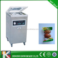 automatic food meat egg rice vaccum pack machine pouch vacuum packaging machine