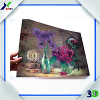 2014 chinese manufacturer 3d lenticular art pictures