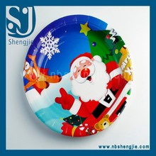 Trade Assurance custom printed offset printing paper plate, disposable cups and plates, polka dot paper plates
