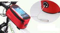 Cycling bike tube bag touch phone bag