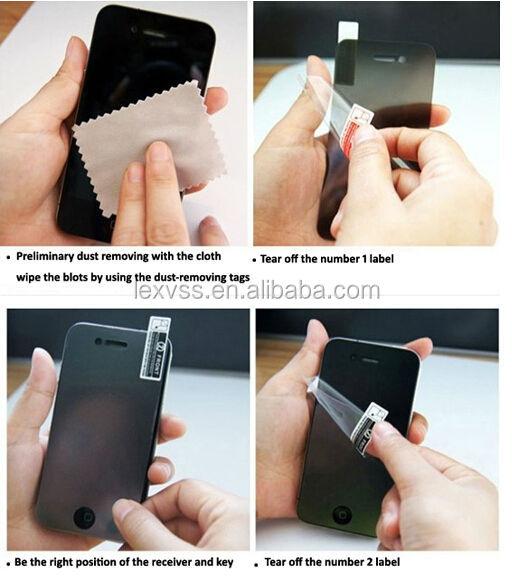 anti-collision screen protectors 0.3mm for ipad5