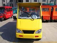 four wheel steering electric tricycle for 8 passengers