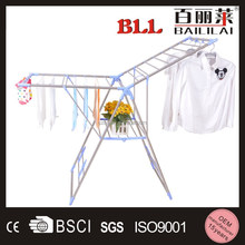 Metal Clothes Hanging Drying Rack with Shoes Rack