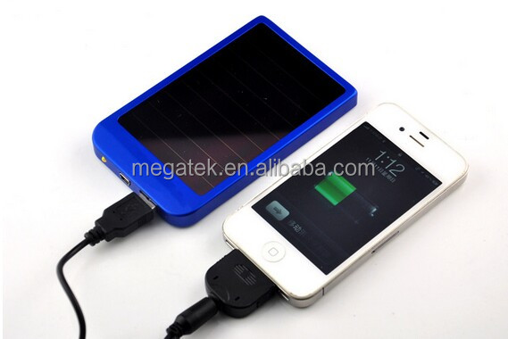 2600mah power bank charger ,mobile solar charger polysilicon