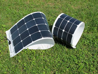 21% efficiency 100W flexiable solar panel sun power cell PV solar panel