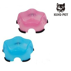 Star shaped PP pet bowls for dogs and cats