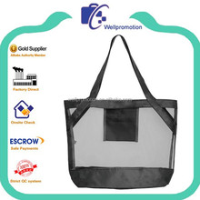 Wellpromotion r PET mesh shopping tote bag