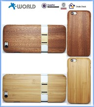 Wooden cell phone case for iphone 6, case made by real wood