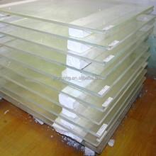Protecção contra as radiações vidro de chumbo