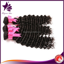 elegance star 2015 new products brazilian loose deep wave hair weave,factory wholesale deep wave deep curl remy human hair