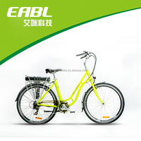 Lithium Battery Electric Bike , Two Wheel Electric Vehicle
