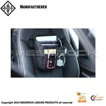 Compact Black Fabric Multi Pocket Car / Truck / Van / SUV Organizer Car front seat organizer