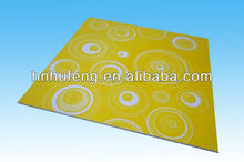 Hot Stamping PVC ceiling panel 595*595mm