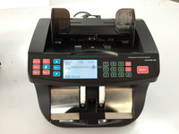 EC990 Money Bill Counter Machine Cash Counting Counterfeit Detector UV MG Bank Checker;