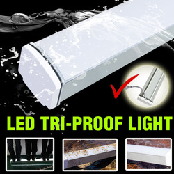 New Design high power smd waterproof IP65 led hanging aluminium light frame With Pir Sensor
