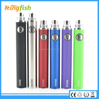 Gifts electronic cigarette EVOD 750-800puffs e-cigarette battery wholesale china