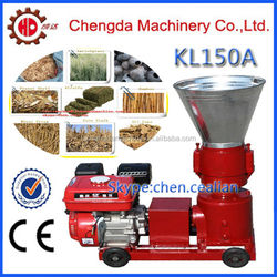 Chengda factory direct supply 7HP 8HP 13HP diesel or gasoline engine flat die corn cob pellet machine with CE