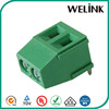 High quality free sample pitch 5.0mm push wire terminal block