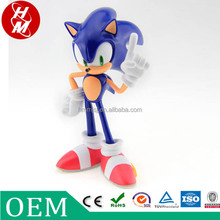 Venta al por mayor japoneses PVC sonic hedgehog personaje de dibujos animados